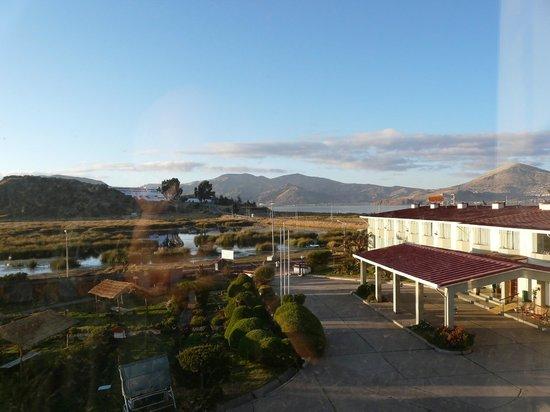 Eco Inn Puno Titicaca Lake: Lake Titicaca from hotel