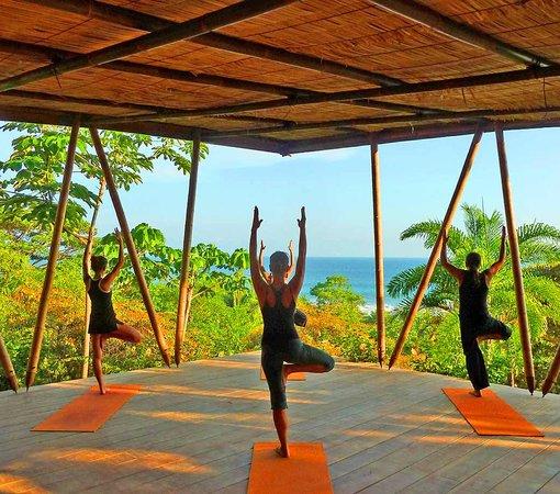 Finca Exotica Ecolodge: Yoga