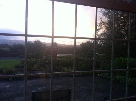 Innisfree B&B: view from the breakfast area
