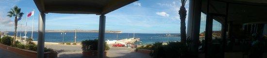 The Riviera Resort & Spa: VISTAS DESDE RECEPCION