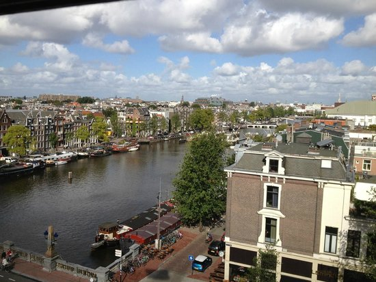 InterContinental Amstel Amsterdam: View from our room