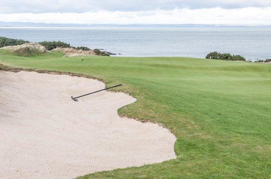 The Castle Course at St. Andrews Links: Seventeenth Green