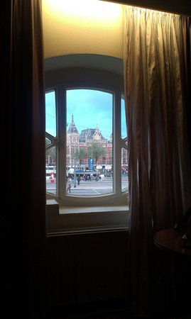 Park Plaza Victoria Amsterdam: View from the room