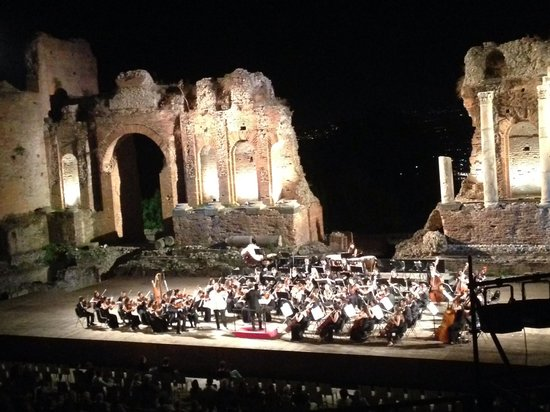 Panoramic Hotel: A concert in the Greek amphitheater - spectacular!