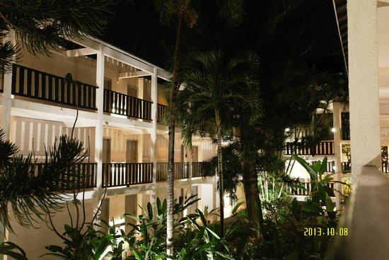 La Creole Beach Hotel: Vue sur les chambres