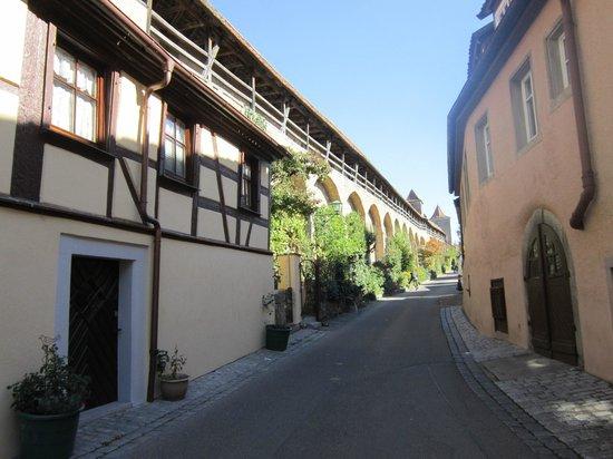 Hotel BurgGartenpalais: Muralha