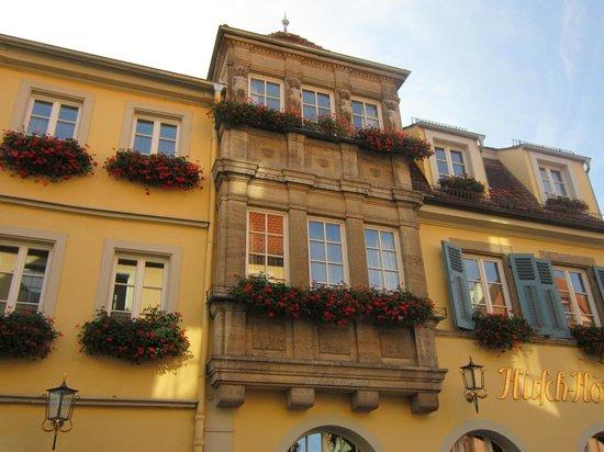 Hotel BurgGartenpalais: Cidade linda.