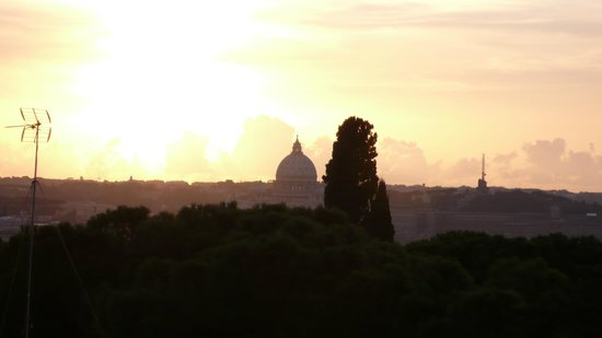 Hotel Splendide Royal : View to the Vatican in the evening