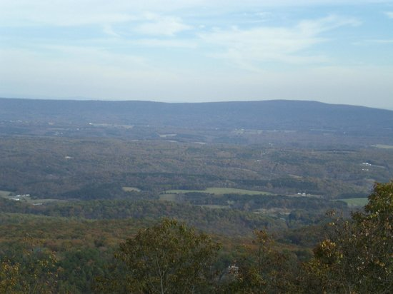 Cacapon State Park: View of 3 States at the Cacapon Overlook
