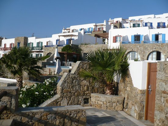Mykonos Grand Hotel & Resort: Suiten mit Privatpool