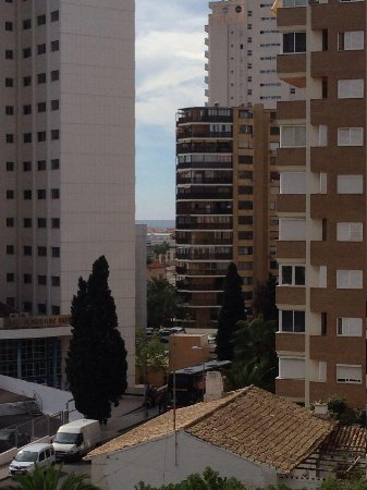 Benimar Apartments: View from balcony in 4A