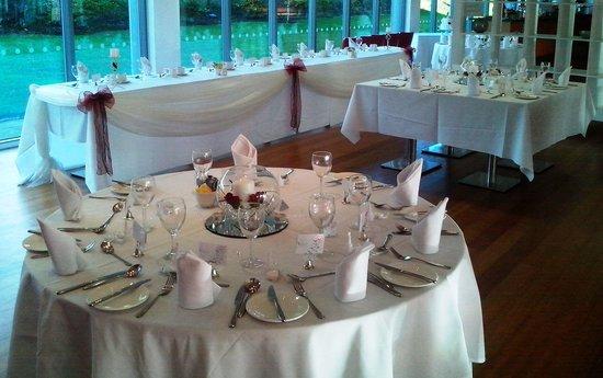 Ibis Styles Barnsley hotel: Setting for Wedding Breakfast