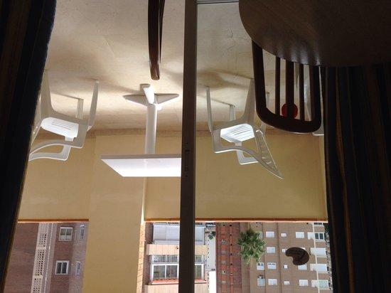 Benimar Apartments: Balcony