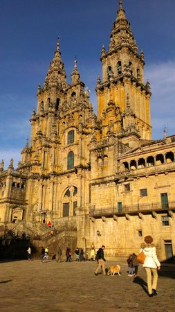 Campanas de San Juan: The cathedral is just there!