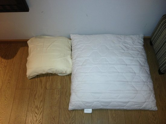 City Hotel Hamburg Mitte: Your choice of pillows