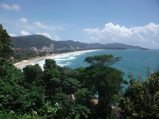 Centara Villas Phuket : viw of karon beach from restaurant