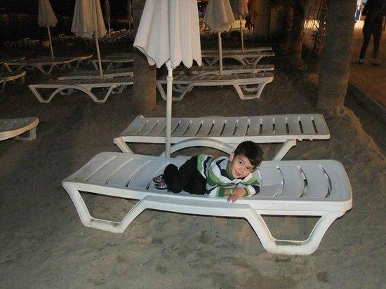 Hotel Emre: Plaj