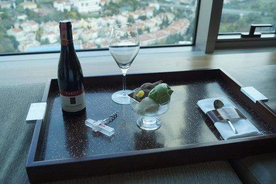 Renaissance Istanbul Polat Bosphorus Hotel : Welcome amenity