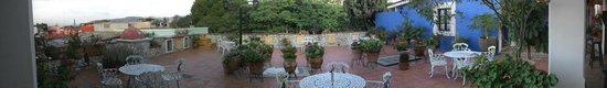 Hotel Casa Arnel: Terraza