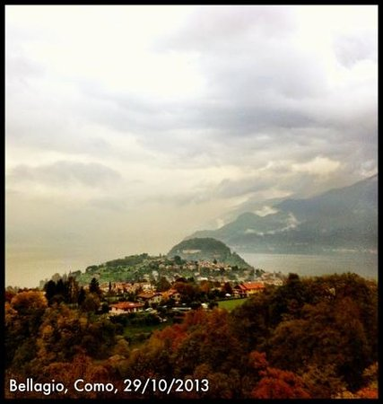 Hotel Il Perlo Panorama : A view from the hotel terrace