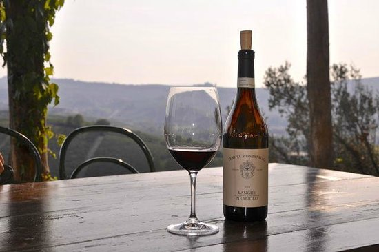 Tenuta Montanello : view from the outdoor table
