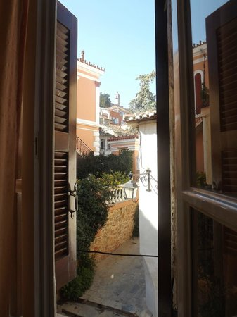 Pension Filyra : view from the window