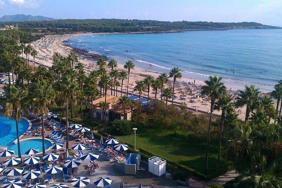 Hipotels Mediterraneo: Blick vom Balkon