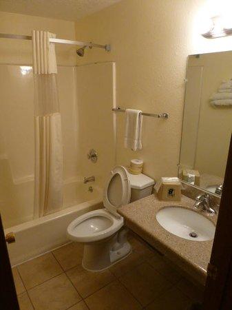 Super 8 Alamogordo: Shower and bath