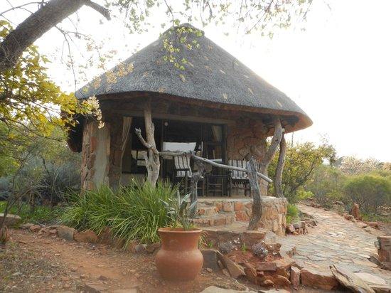 Iketla Lodge : Une rondavelle