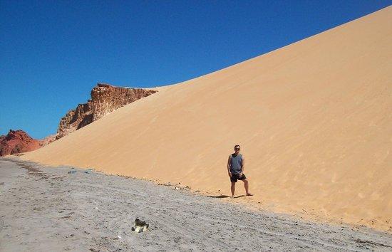 Praia Ponta Grossa : Bellíssimas dunas....