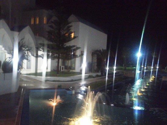 Amir Palace: вечерний отель