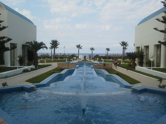 Amir Palace: терртория отеля
