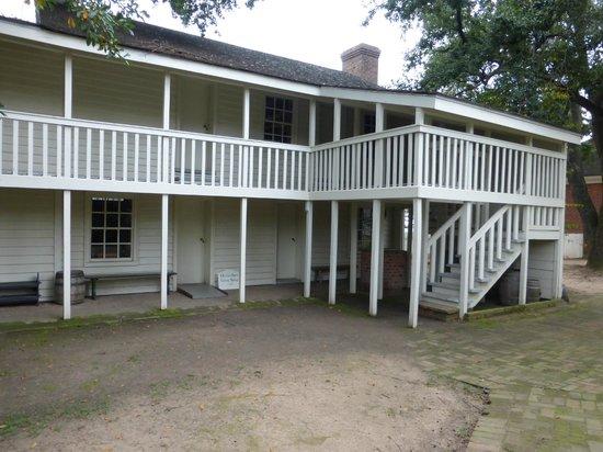 Historic Arkansas Museum: Historic Building