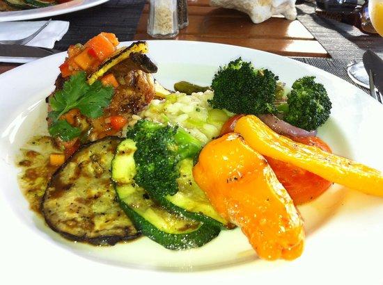 West Bay Club: My dinner prepared by Chef Joseph