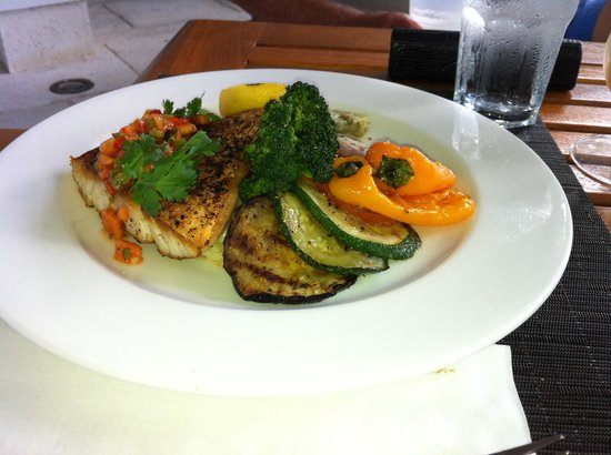 West Bay Club: Another dinner prepared by Chef Joseph