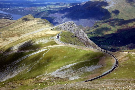 Snowdon Mountain Railway : Long and winding rail