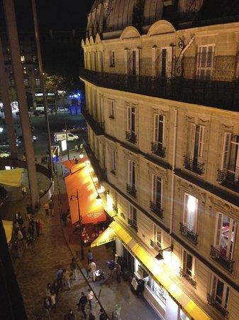 Hotel Albe Saint Michel: Balcony ledge