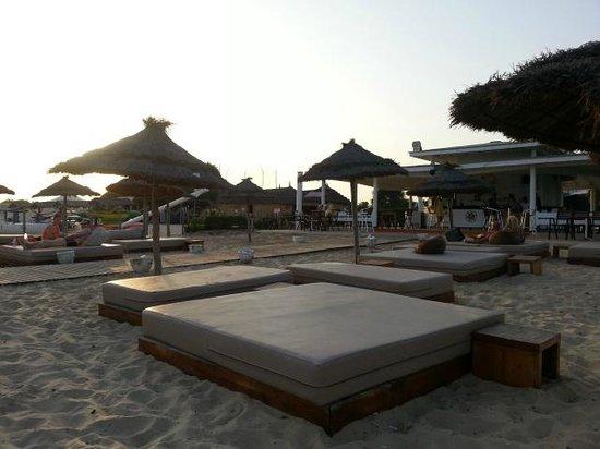 Club Eldorador Salammbo : Bar de la plage