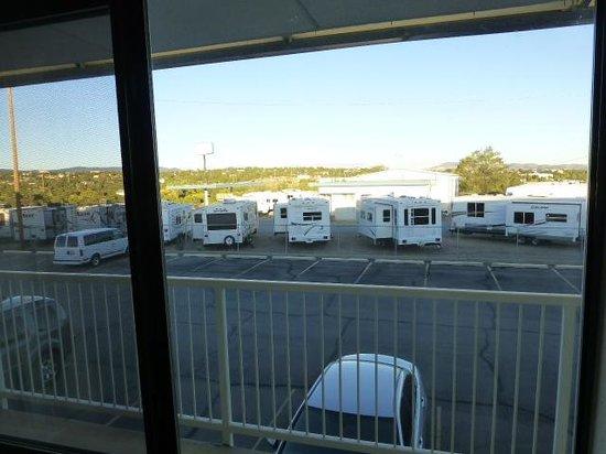 Rodeway Inn Silver City: Room window view
