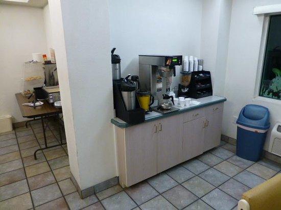 Rodeway Inn Silver City: Must be breakfast area