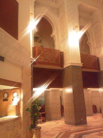 Amir Palace: интерьеры отеля