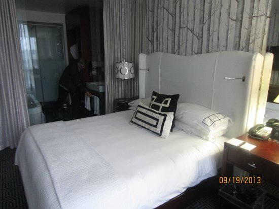 DaVinci Hotel and Suites: our room