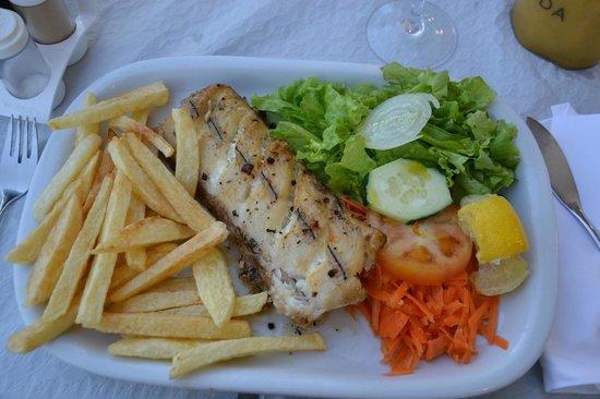 Salgueiro Hotel : Вкуснейшая рыба-сабля