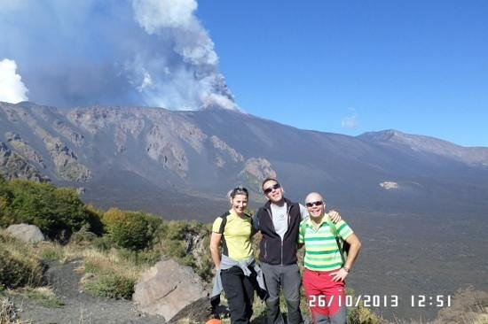 Etnaround - Etna tours, Trekking, Excursions: Eruzione del 26/10