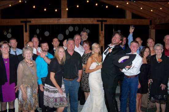 The Marriott Ranch Bed and Breakfast: a very fun wedding!