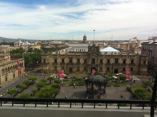 One Guadalajara Centro Històrico: Vista desde nuestra habitacion!