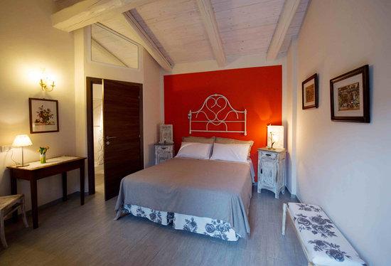 Villareggia, Italie : Camera matrimoniale