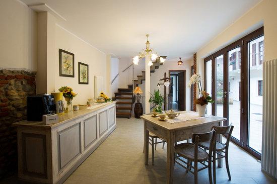 Villareggia, Italie : Sala Colazioni