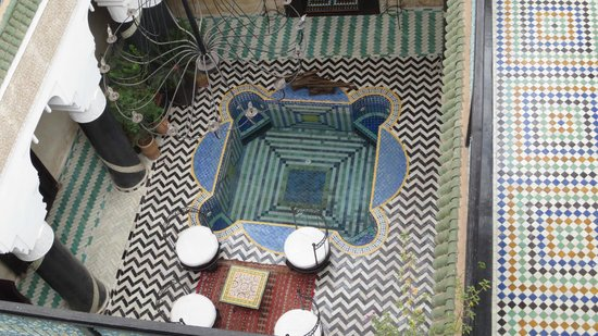 Riad El Mansour: A view from above