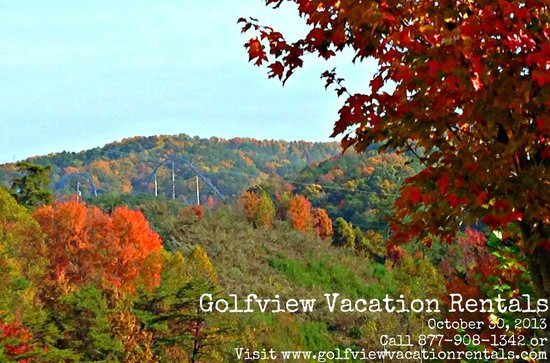 Golfview Vacation Rentals at GolfView Resort: Beautiful Fall Colors